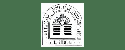 Wojewódzka biblioteka publiczna E. Smołki- logo
