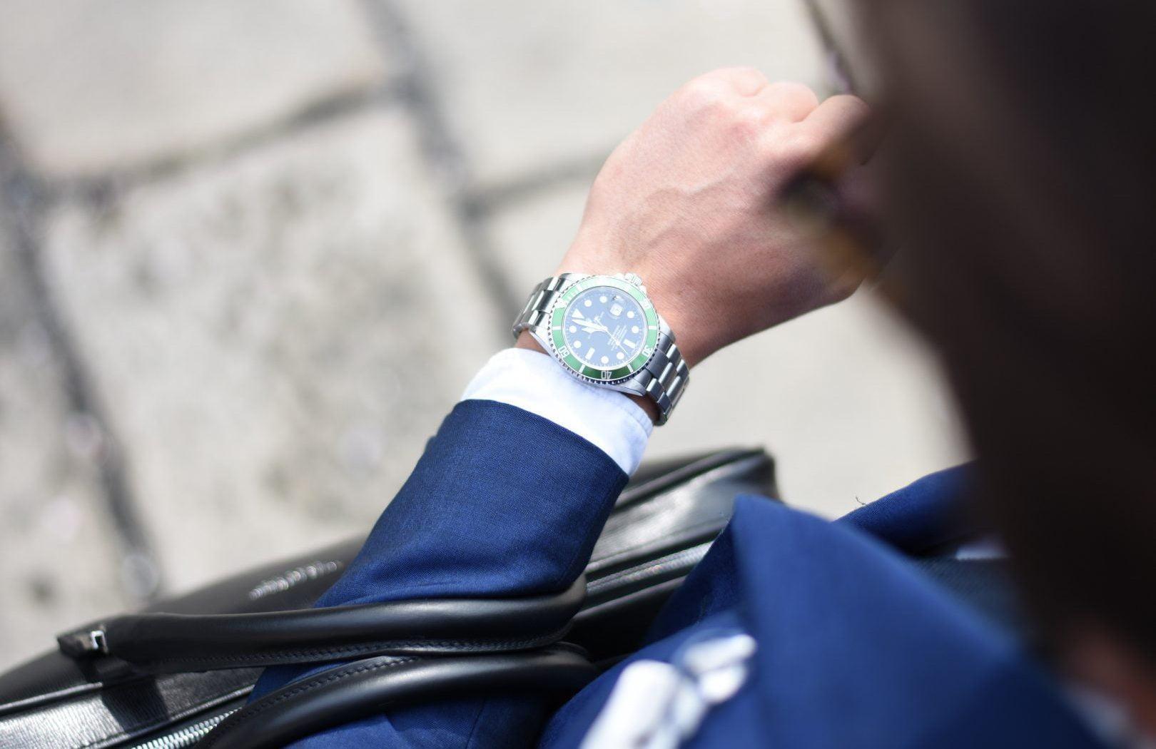 Zegarek na ręce